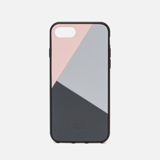 Чехол Native Union Clic Marquetry iPhone 7/8 Pink/Blue/Grey