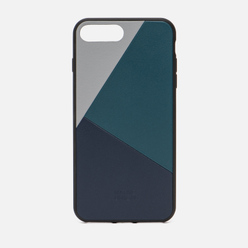 Чехол Native Union Clic Marquetry iPhone 7/8 Plus Grey/Dark Green/Dark Blue