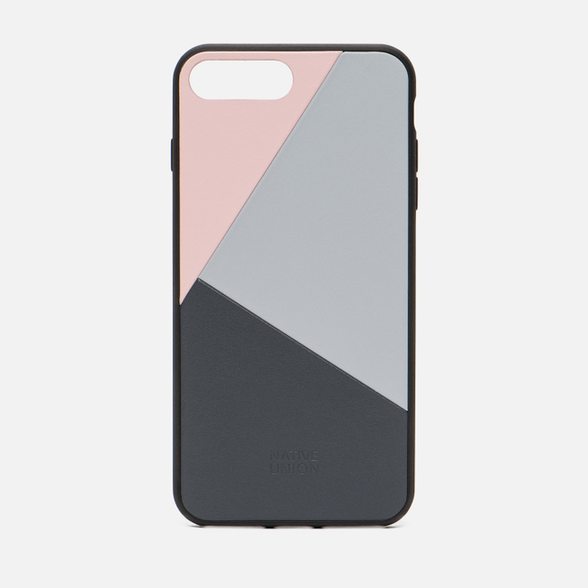 Чехол Native Union Clic Marquetry iPhone 7/8 Plus Pink/Blue/Grey