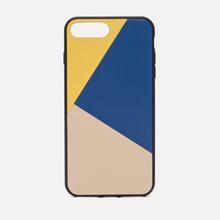 Чехол Native Union Clic Marquetry iPhone 7/8 Plus Yellow/Blue/Beige фото- 0