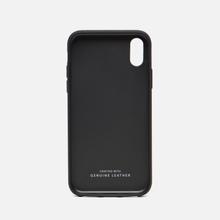 Чехол Native Union Clic Marquetry iPhone X Grey/Dark Green/Dark Blue фото- 1