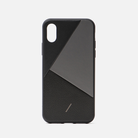 Чехол Native Union Clic Marquetry iPhone X/Xs Black