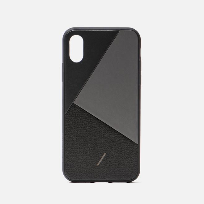 Чехол Native Union Clic Marquetry iPhone X/Xs Black