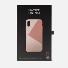 Чехол Native Union Clic Marquetry iPhone X/Xs Rose фото- 1