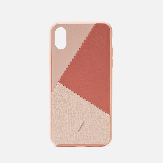 Чехол Native Union Clic Marquetry iPhone X/Xs Rose