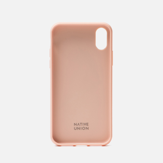 Чехол Native Union Clic Marquetry iPhone X/Xs Rose