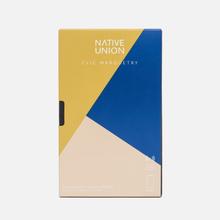 Чехол Native Union Clic Marquetry iPhone X Yellow/Blue/Beige фото- 3