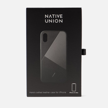 Чехол Native Union Clic Marquetry iPhone Xs Max Black фото- 1