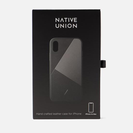 Чехол Native Union Clic Marquetry iPhone Xs Max Black