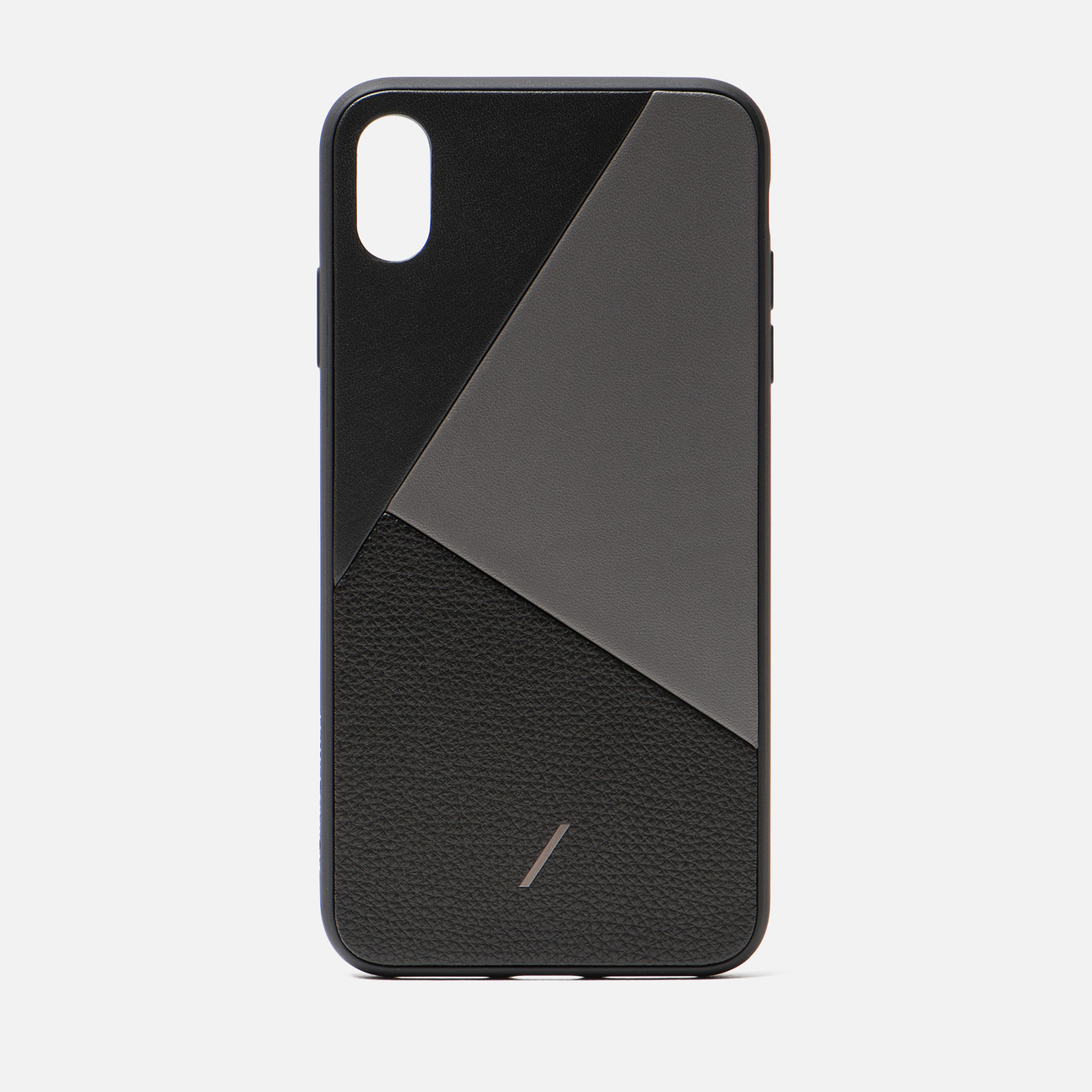 Чехол Native Union Clic Marquetry iPhone Xs Max Black