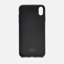 Чехол Native Union Clic Marquetry iPhone Xs Max Black фото- 3