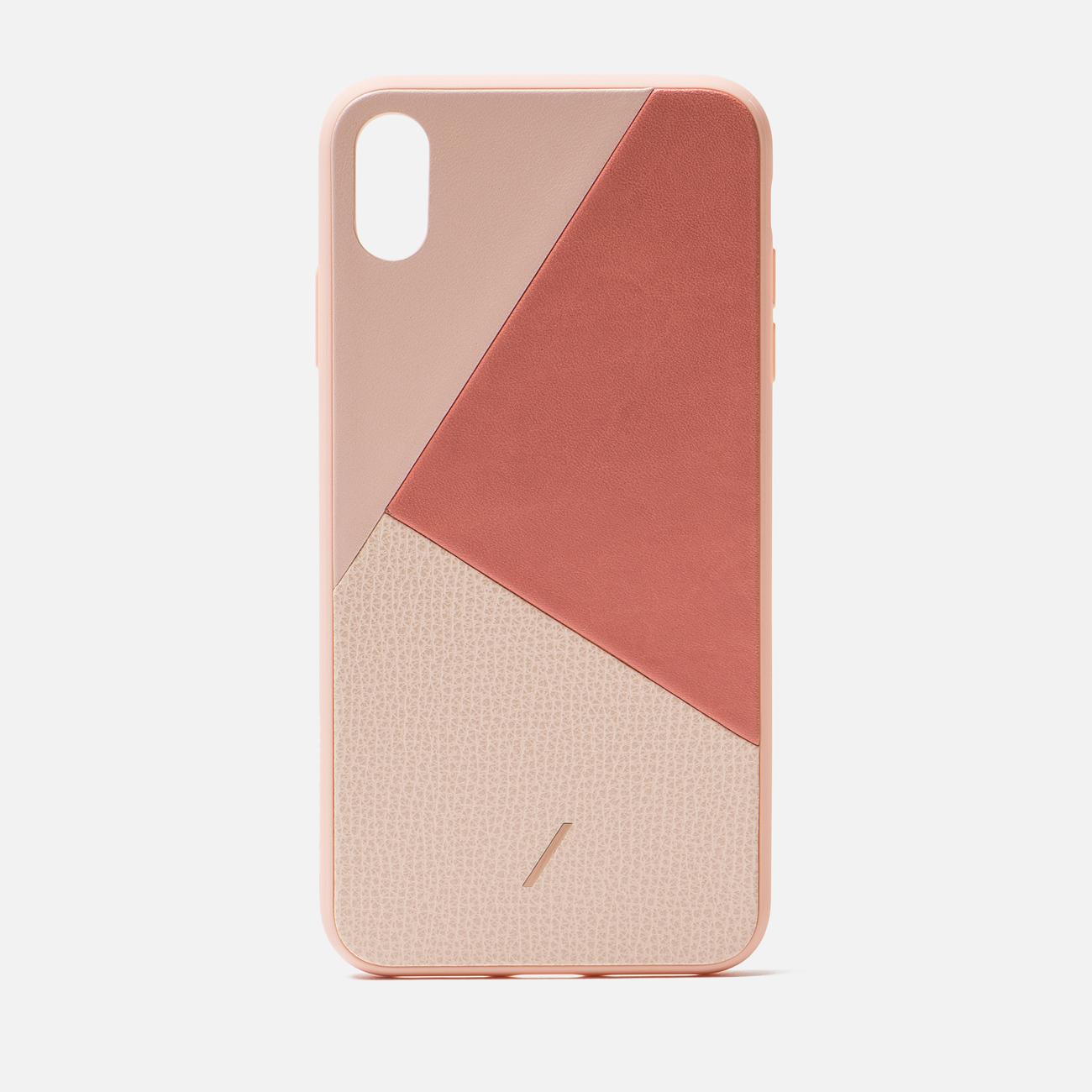 Чехол Native Union Clic Marquetry iPhone Xs Max Rose