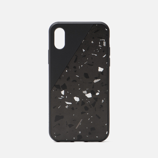 Чехол Native Union Clic Terrazzo iPhone X/Xs Black