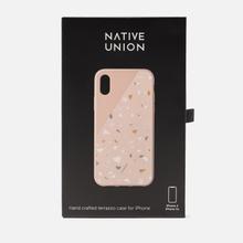Чехол Native Union Clic Terrazzo iPhone X/Xs Rose фото- 1