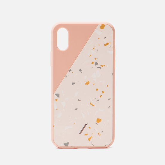 Чехол Native Union Clic Terrazzo iPhone X/Xs Rose