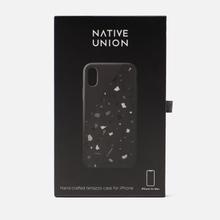 Чехол Native Union Clic Terrazzo iPhone Xs Max Black фото- 1