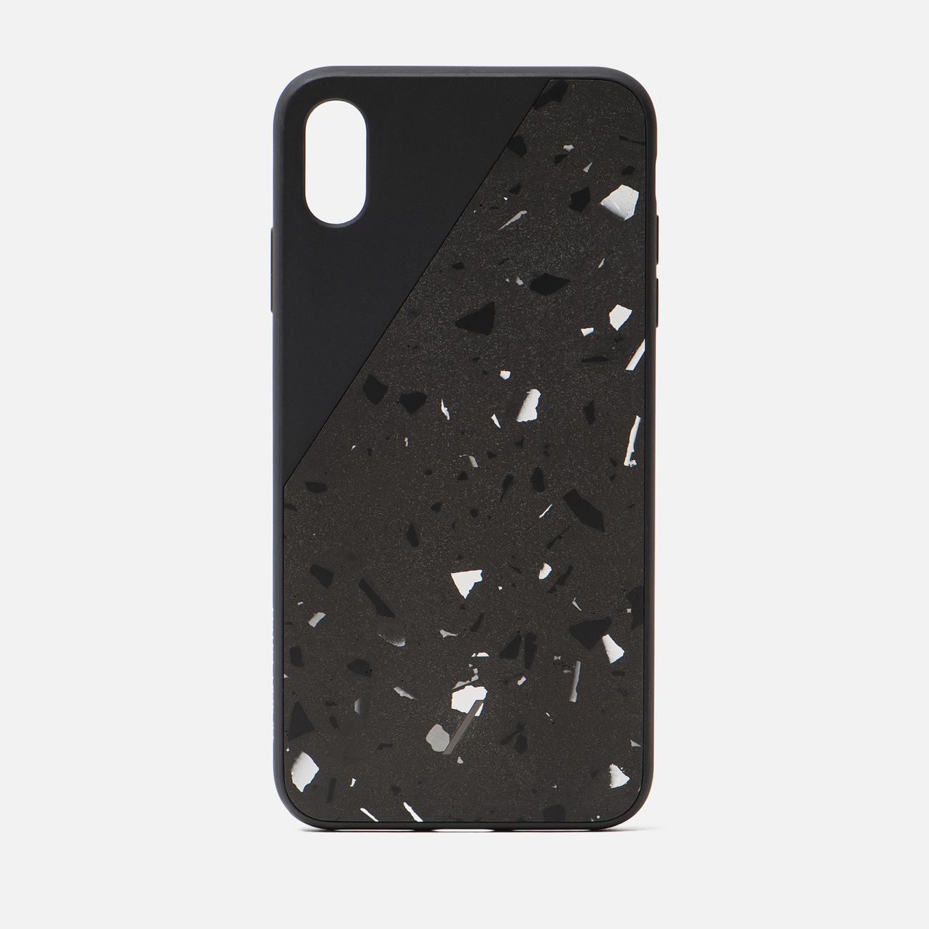 Чехол Native Union Clic Terrazzo iPhone Xs Max Black