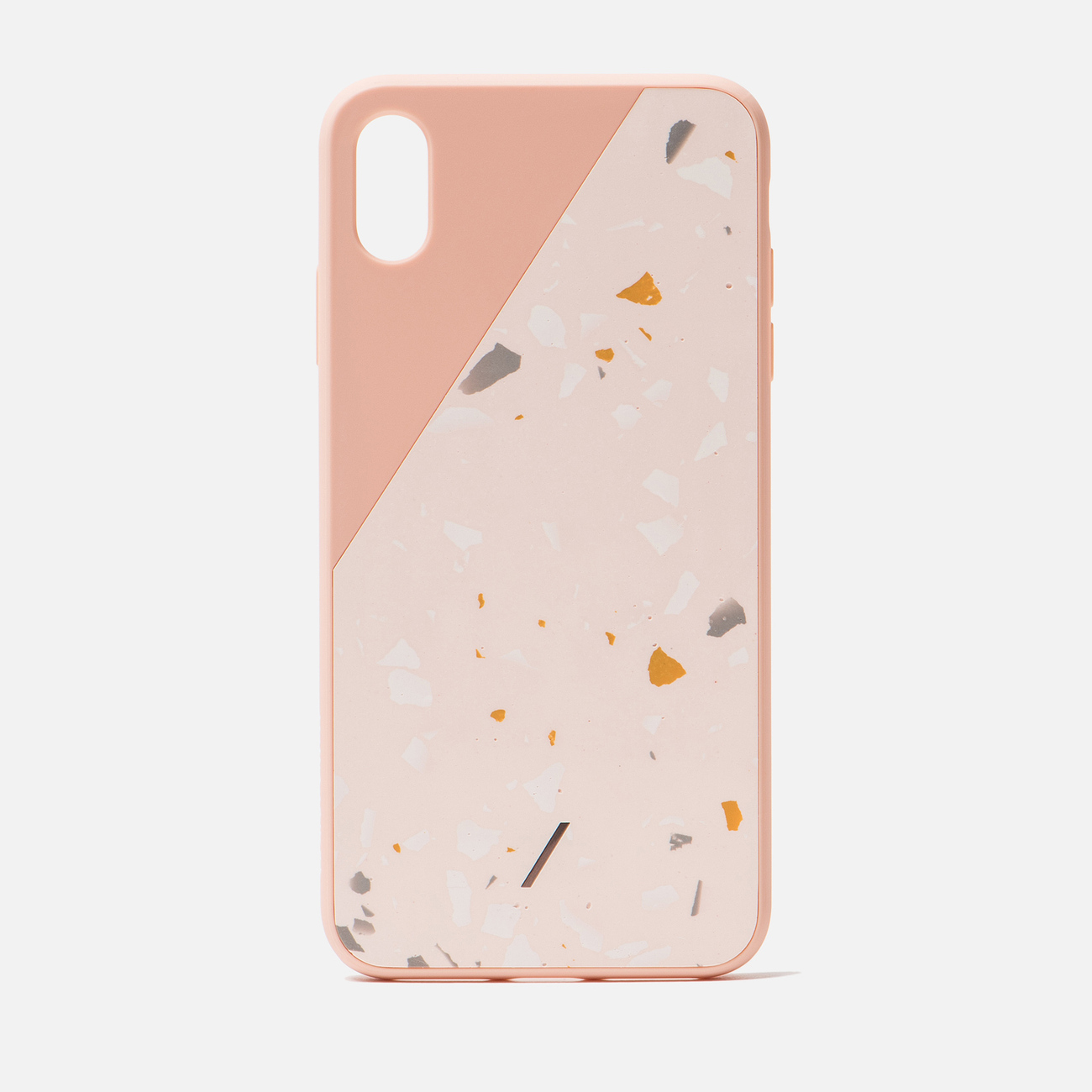 Чехол Native Union Clic Terrazzo iPhone Xs Max Rose