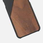 Чехол Native Union Clic Wooden IPhone 6/6s Black/Walnut Wood фото- 2