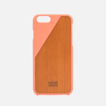 Чехол Native Union Clic Wooden IPhone 6/6s Coral/Cherry Wood фото- 0