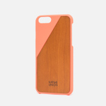 Чехол Native Union Clic Wooden IPhone 6/6s Coral/Cherry Wood фото- 1