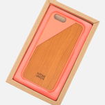 Чехол Native Union Clic Wooden IPhone 6/6s Coral/Cherry Wood фото- 4