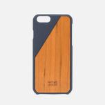 Чехол Native Union Clic Wooden IPhone 6/6s Marine/Cherry Wood фото- 0