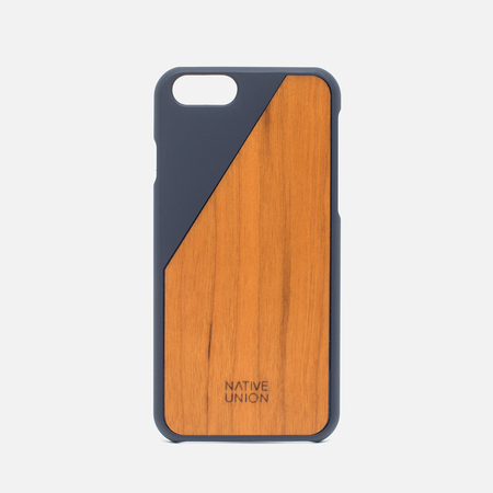 Чехол Native Union Clic Wooden IPhone 6/6s Marine/Cherry Wood