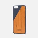 Чехол Native Union Clic Wooden IPhone 6/6s Marine/Cherry Wood фото- 1