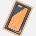 Чехол Native Union Clic Wooden IPhone 6/6s Marine/Cherry Wood фото- 4