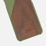 Чехол Native Union Clic Wooden IPhone 6/6s Olive/Walnut Wood фото- 2