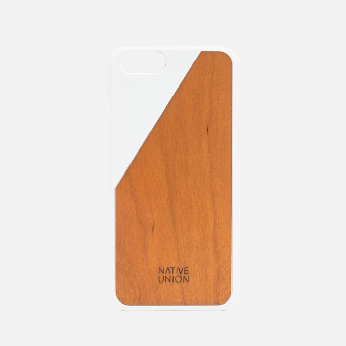 Чехол Native Union Clic Wooden IPhone 6/6s White/Cherry Wood