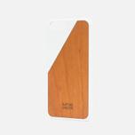 Чехол Native Union Clic Wooden IPhone 6/6s White/Cherry Wood фото- 1