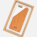 Чехол Native Union Clic Wooden IPhone 6/6s White/Cherry Wood фото- 4