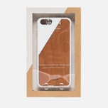 Чехол Native Union Clic Wooden IPhone 6/6s White/Cherry Wood фото- 5