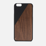 Чехол Native Union Clic Wooden IPhone 6 Plus Black Wood фото- 0