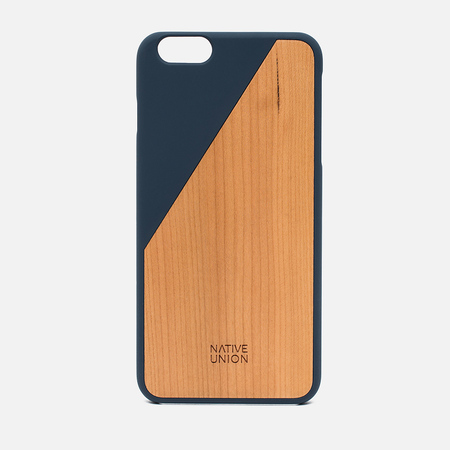 Чехол Native Union Clic Wooden IPhone 6 Plus Dark Blue Wood