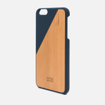 Чехол Native Union Clic Wooden IPhone 6 Plus Dark Blue Wood фото- 1