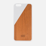 Чехол Native Union Clic Wooden IPhone 6 Plus White Wood фото- 0
