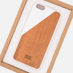 Чехол Native Union Clic Wooden IPhone 6 Plus White Wood фото- 6