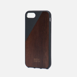 Чехол Native Union Clic Wooden iPhone 7 Black/Wood фото- 1