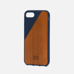 Чехол Native Union Clic Wooden iPhone 7 Marine/Wood фото- 1