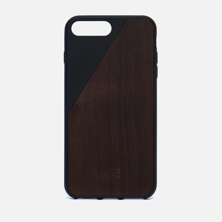 Чехол Native Union Clic Wooden iPhone 7 Plus Black/Wood