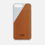 Чехол Native Union Clic Wooden iPhone 7 Plus White/Wood фото- 0