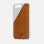 Чехол Native Union Clic Wooden iPhone 7 Plus White/Wood фото- 1