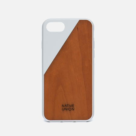 Чехол Native Union Clic Wooden iPhone 7 White/Wood