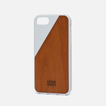 Чехол Native Union Clic Wooden iPhone 7 White/Wood фото- 1