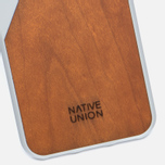 Чехол Native Union Clic Wooden iPhone 7 White/Wood фото- 2
