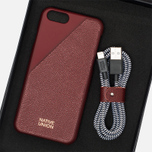 Набор для iPhone Native Union Leather Edition iPhone 6/6s Bordeaux фото- 7