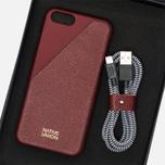 Native Union Leather Edition Set iPhone 6/6s Case Bordeaux photo- 7